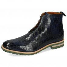 Ankle boots Eddy 10 Crock Navy Laces Green