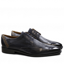 Derby shoes Xabi 1 Berlin Haina Navy Strap Smoke