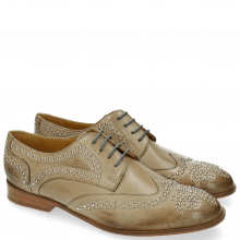 Derby shoes Sally 53 Berlin Smoke Rivets