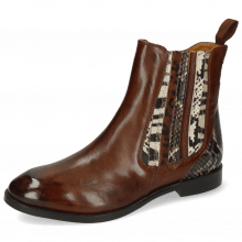 Ankle boots Lexi 2 Monza Mid Brown King Snake