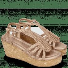 Sandals Hanna 55 Woven Rame Cork