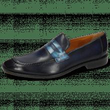 Loafers Gaston 3 Vegas Navy Galap Sweet Water