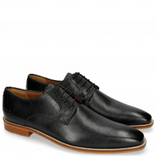 Derby shoes Alex 1 Venice Haina Black