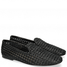Loafers Jackie 5 Woven Black