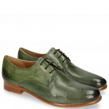 Derby shoes Selina 23 Perfo Algae