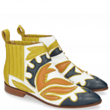 Ankle boots Jessy 42 Nappa Navy Orange