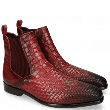 Ankle boots Luke 2 Interlaced Turtle Burgundy