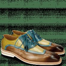 Derby shoes Marvin 12 Mid Brown Bluette Sol