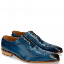 Oxford shoes Clark 2 Baby Brio Mid Blue