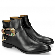 Ankle boots Candy 8 Black Buckle Multi