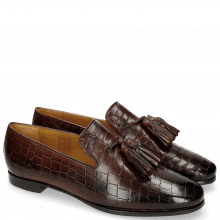 Loafers Scarlett 20 Crock Mogano