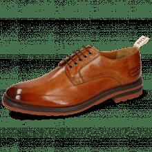 Derby shoes Eddy 54 Tan Strap Beige Lining