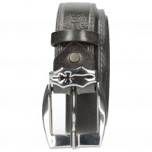 Belts Larry  1 Grigio Sword Buckle
