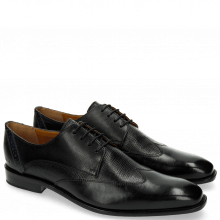 Derby shoes Xabi 1 Berlin Haina Black Strap Navy