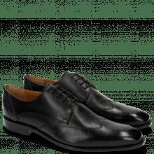 Derby shoes Xabi 1 Berlin Haina Black Strap Navy