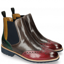 Ankle boots Selina 6 Bubblegum Grigio Yellow Pine