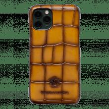 iPhone case Eleven Pro Crust Turtle Yellow Edge Shade Mogano