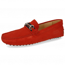 Loafers Nelson 16 Suede Pattini Pompei Dots