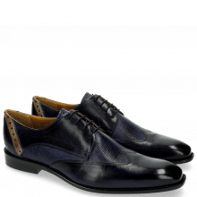 Derby shoes Xabi 1 Berlin Venice Haina Navy