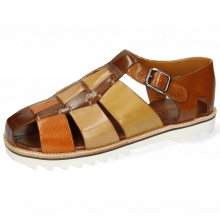 Sandals Sam 29 Classic Brown Arancio Sand Olivine Wood