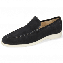 Loafers Earl 1  Suede Pattini Navy