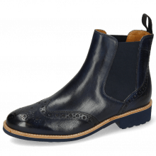 Ankle boots Selina 6 Navy Elastic Navy Lining