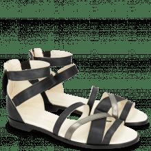 Sandals Celia 46 Vegas Black