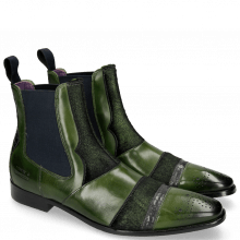 Ankle boots Elvis 12 Ultra Green Wellington Lead Hair On