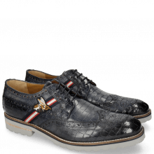 Derby shoes Eddy 25 Crock Navy Strap