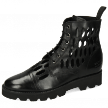 Ankle boots Selina 51 Black Lasercut
