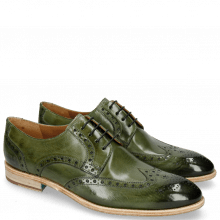 Derby shoes Bobby 5 Washed Algae