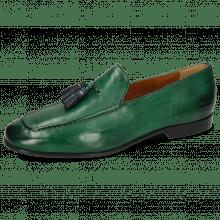 Loafers Clive 20 Monza Dark Green Tassel