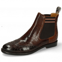 Ankle boots Selina 35 Crock Mogano Mid Brown