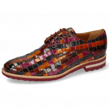 Derby shoes Brad 7 Woven Multi 7 Lining Rich