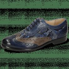 Oxford shoes Selina 56 Imola Marina Stone Dafne Surf