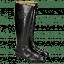 Boots Susan 7 Rio Black Lining Rich Tan