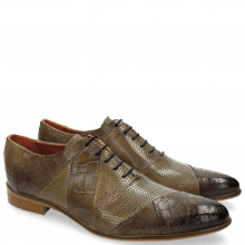 Oxford shoes Toni 20 Crock Perfo Big Croco Stone Oxygen