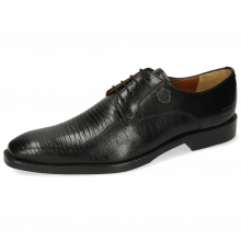 Derby shoes Martin 1 Venice Guana Black