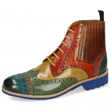 Ankle boots Amelie 17 Crock Ice Blue Grey Sweet Green Cedro Rubino Orange Wood Bubblegum