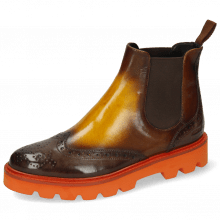 Ankle boots Selina 65 Vegas Multi Shade Dark Brown