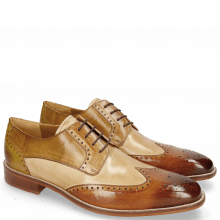 Derby shoes Jeff 14 Tan Nude Cashmere Nougat Olivine