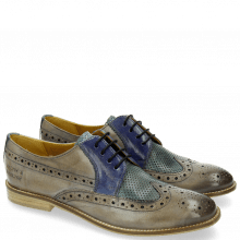 Derby shoes Xenia 2 Oxygen Clear Water Moroccan Blue