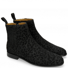 Ankle boots Susan 43 Leo Glitter Black