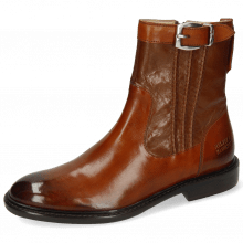 Ankle boots Sally 85 Monza Wood Nappa Mink