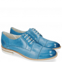 Derby shoes Amelie 2 Vegas Perfo Bluette