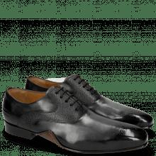 Oxford shoes Ethan 11 Black Rio Scotch Grain
