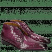 Ankle boots Clark 17 Crock Eggplant LS Black