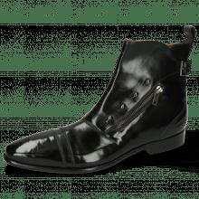 Ankle boots Elvis 25 Black Tan Toledo Black