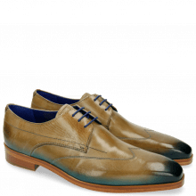 Derby shoes Lewis 9 Visone Shade Bluette