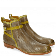 Ankle boots Amelie 36 Perfo Oxygen Strap Cedro
